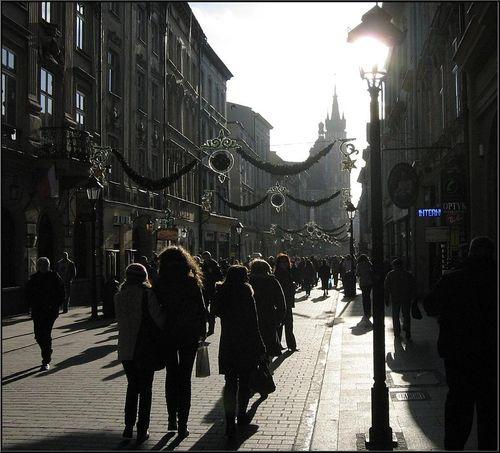 Wojciech Oracz :: Ulica Florianska :: 2008-01-25
