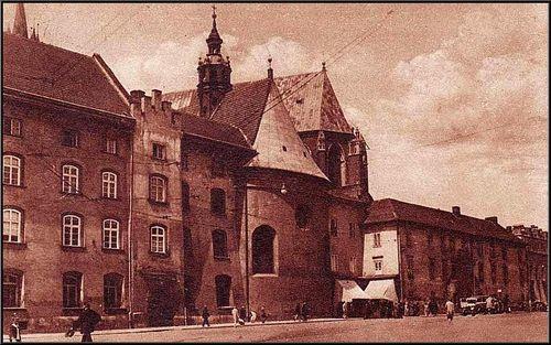 Kraków :: Mały Rynek 1933 ::
