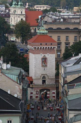 Kraków :: Brama Floriańska ::