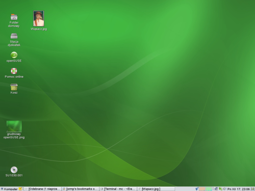 Grudniowy openSUSE