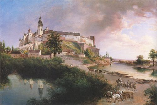 Glowacki. Widok na Wawel (1600x1078 pixels)