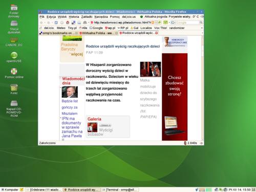 Grudniowe biurko :: desktop ::