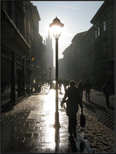 Kraków Florianska Street :: photo :: Wojciech Oracz ::