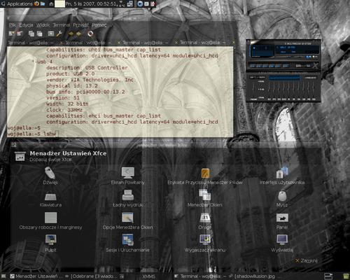 Xubuntu 7.10 :: Xfce-dusk ::