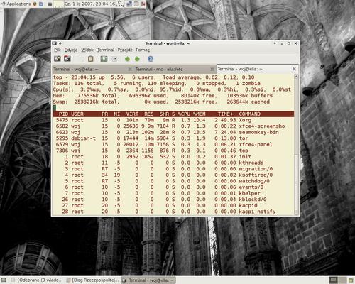 Xubuntu 7.10 :: Xfce4-terminal ::