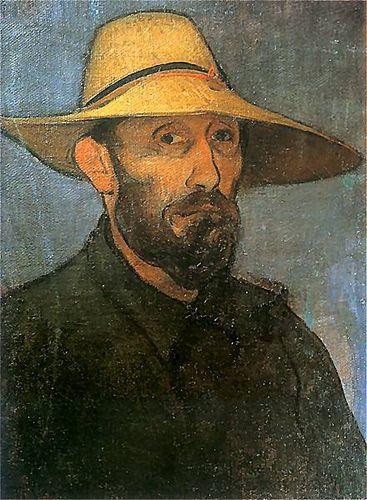 Władysław Ślewinski :: Autoportret :: 1894 ::