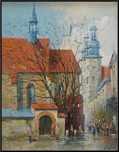 Włodzimierz Skuza :: Kraków :: Kościół Świętego Idziego ::