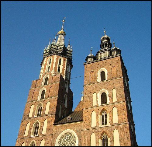 Kraków :: Wieże Kościoła Mariackiego ::