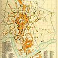 Kraków 1881 Litografia z zakładu A. Pruszyńskiego w Krakowie