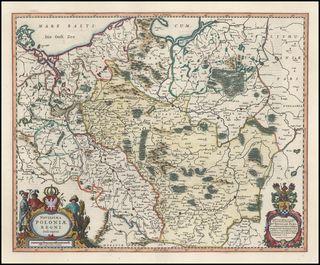 Novissima Poloniae Regni Descriptio 1642