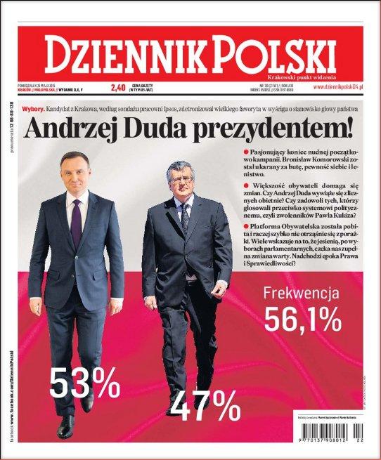 Dziennik Polski 2015-05-25